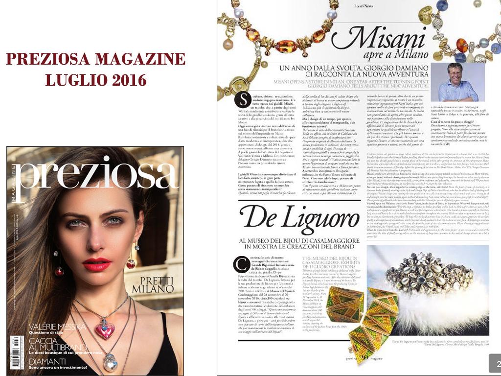 Preziosa Magazine Luglio