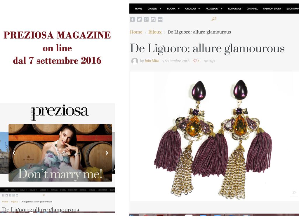 Preziosa Magazine Online 7 Settembre
