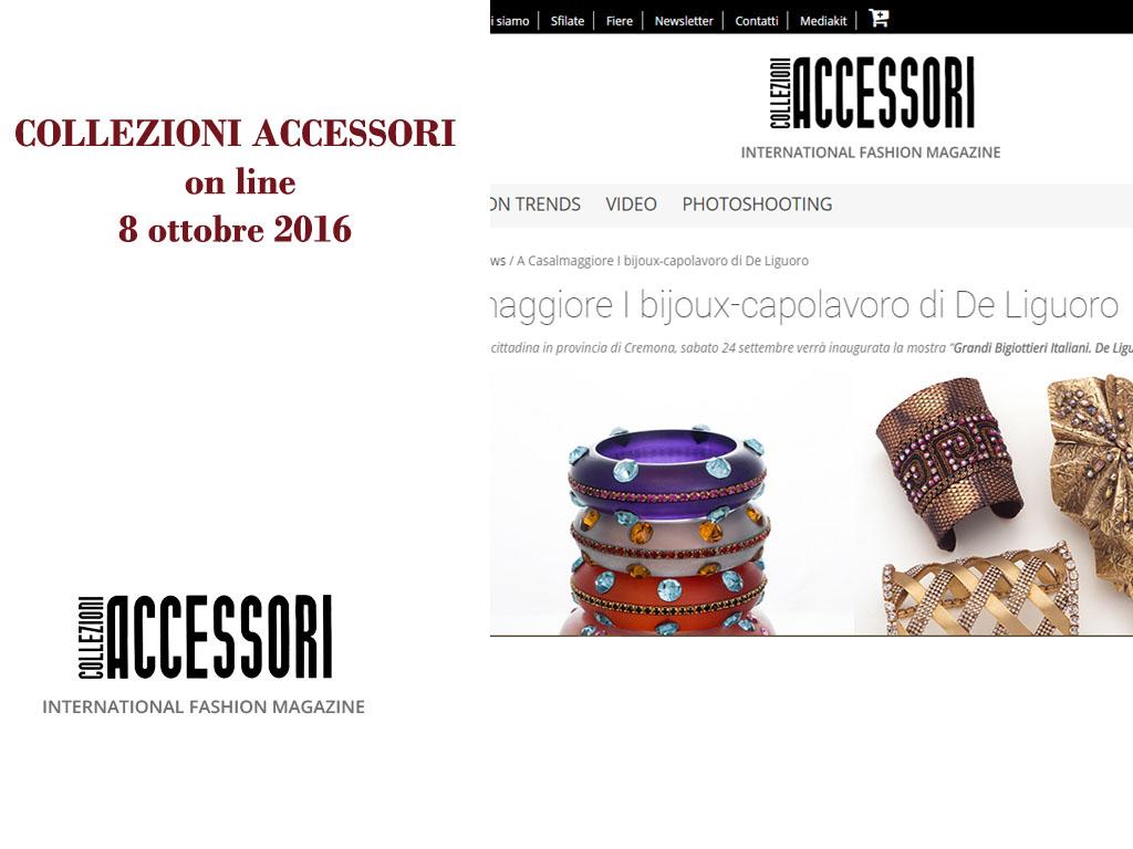Collezioni Accessori Online 8 Ottobre