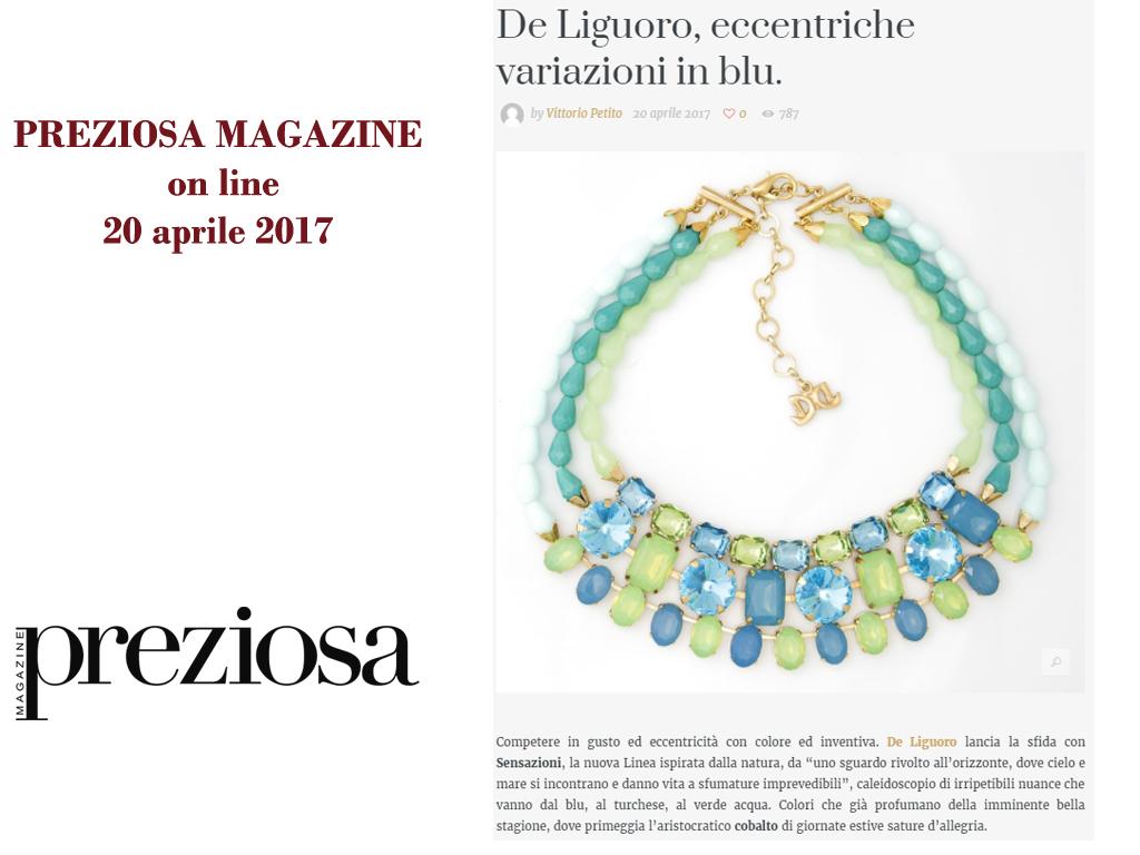 Preziosa Magazine 20 Aprile