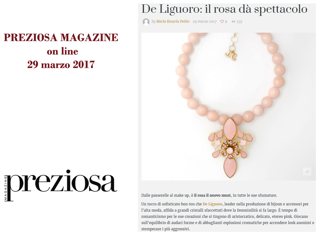 Preziosa Magazine 249 Marzo